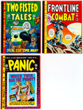Memorabilia:Comic-Related, EC The Complete Panic, Frontline Combat, and Two-Fisted Tales Sets Group (Russ Cochran, 1980-84) Condition: Average VF.... (Total: 3 Item)