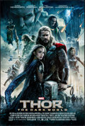 "Movie Posters:Adventure, Thor: The Dark World (Walt Disney Studios, 2013) Rolled, Very Fine-. One Sheet (27"" X 40"") DS Advance. Adventure...."