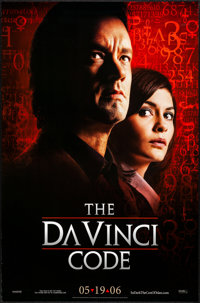 """The Da Vinci Code (Columbia, 2006) Rolled, Very Fine-. One Sheets (2) (26.75"""" X 39.75"""") DS Advance, 2 Styles..."""