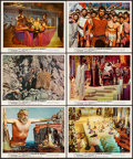 """Movie Posters:Fantasy, Jason and the Argonauts (Columbia, 1963) Very Fine. Color Photos(6) (8"""" X 10"""") & Photos (2) (Approx. 8"""" X 10.25""""). Fantasy....(Total: 8 Items)"""