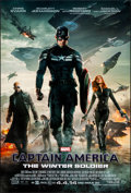"""Movie Posters:Action, Captain America: The Winter Soldier (Walt Disney Pictures, 2014) Rolled, Very Fine+. One Sheet (27"""" X 40"""") DS Advance. Actio..."""