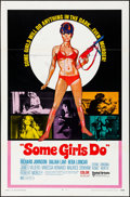 """Movie Posters:Action, Some Girls Do (United Artists, 1970). Folded, Fine/Very Fine. One Sheet (27"""" X 41""""). Action. . ..."""