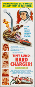 """Movie Posters:Sports, Tiny Lund: Hard Charger (Marathon Pictures, 1967) Rolled, Very Fine-. Insert (14"""" X 36""""). Sports...."""