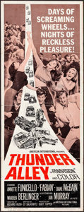 """Movie Posters:Action, Thunder Alley & Other Lot (American International, 1967) Folded, Fine/Very Fine. Insert (14"""" X 36"""") & International One Shee... (Total: 2 Items)"""