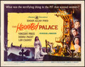 "Movie Posters:Horror, The Haunted Palace (American International, 1963) Rolled, Fine/VeryFine. Half Sheet (22"" X 28""). Horror...."