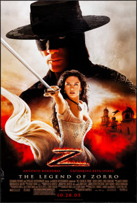 """The Legend of Zorro (Columbia, 2005) Rolled, Very Fine-. One Sheets (3) (26.75"""" X 39.75"""") DS Advance, 3 Styles..."""