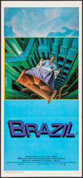 "Movie Posters:Fantasy, Brazil (20th Century Fox, 1985).Folded, Very Fine-. Australian Daybill (13"" X 28"") Lagarrigue Artwork. Fantasy...."