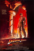 """Movie Posters:Adventure, Indiana Jones and the Temple of Doom (Paramount, 1984) Rolled, Very Fine. One Sheet (27"""" X 41"""") Bruce Wolf Artwork. Adventur..."""
