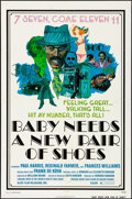 "Movie Posters:Blaxploitation, Baby Needs a New Pair of Shoes (Alert Film Releasing, 1974) Folded, Fine/Very Fine. One Sheet (27"" X 41"") D. Lewis Artwork. ..."