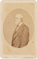 Photography:CDVs, Robert E. Lee: Miley Carte-de-Visite [CDV]....