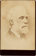 Photography:Cabinet Photos, Robert E. Lee: Unusual Cabinet Card by Miley Associate in Danville, Virginia....