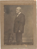 Photography:Studio Portraits, Robert E. Lee: Mounted Carbon Print Studio Portrait....