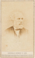 Photography:CDVs, Robert E. Lee: Gardner Carte-de-Visite [CDV]....