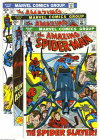 The Amazing Spider-Man Group (Marvel, 1972-82) Condition: Average VF/NM. This group includes art by Gil Kane, John Romit...