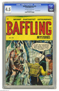 Golden Age (1938-1955):Horror, Baffling Mysteries #24 (Ace, 1955) CGC VG+ 4.5 Off-white to whitepages. Last pre-code issue. Overstreet 2004 VG 4.0 value =...
