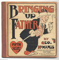 Platinum Age (1897-1937):Miscellaneous, Bringing Up Father #5 (Cupples & Leon, 1921) Condition: FR.Reprints strips from April through June 1921. Grade is due to ro...