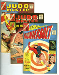 Silver Age (1956-1969):Miscellaneous, Charlton Silver Age Group (Charlton, 1966-67) Condition:. Thisgroup includes Thunderbolt #1, 51, 52, 53, 54, 55, 56, 57...(Total: 22 Comic Books Item)