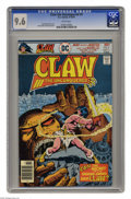 Bronze Age (1970-1979):Superhero, Claw the Unconquered #9 (DC, 1976) CGC NM+ 9.6 White pages. Claw's origin revealed in this issue. Keith Griffen and Bob Layt...