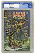 Bronze Age (1970-1979):Miscellaneous, Dagar the Invincible #9 (Gold Key, 1974) CGC VF+ 8.5 Off-white towhite pages. Overstreet 2004 VF 8.0 value = $8; VF/NM 9.0 ...