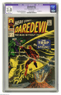 Daredevil #21 (Marvel, 1966) CGC Apparent GD/VG 3.0 Slight (A) Off-white pages. Owl appearance. Gene Colan cover. Colan...