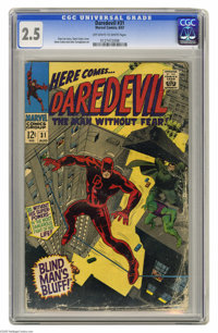 Daredevil #31 (Marvel, 1967) CGC GD+ 2.5 Off-white to white pages. Gene Colan cover. Colan and John Tartaglione art. Ove...