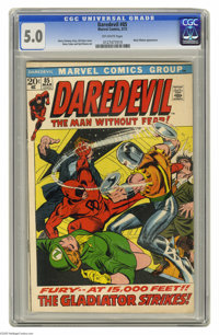 Daredevil #85 (Marvel, 1972) CGC VG/FN 5.0 Off-white pages. Black Widow appearance. Gil Kane cover. Gene Colan and Syd S...