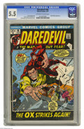 Bronze Age (1970-1979):Superhero, Daredevil #86 (Marvel, 1972) CGC FN- 5.5 Off-white to white pages. Black Widow appearance. John Buscema and Frank Giacoia co...