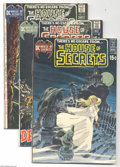 Bronze Age (1970-1979):Miscellaneous, DC Bronze Age Horror Group (DC, 1969-75) Condition:. This groupincludes House of Secrets #88 (Neal Adams cover), 91 (Adams ...(Total: 9 Comic Books Item)