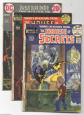 Bronze Age (1970-1979):Miscellaneous, DC Bronze Age Horror Group (DC, 1972-73) Condition: Average VF/NM.This group includes House of Secrets #96 (Bernie Wrightso...(Total: 4 Comic Books Item)