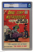 Silver Age (1956-1969):Adventure, Drag-Strip Hotrodders #4 (Charlton, 1965) CGC VF/NM 9.0 Cream to off-white pages. Overstreet 2004 VF/NM 9.0 value = $40; NM-...