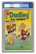 Bronze Age (1970-1979):Cartoon Character, Dudley Do-Right #1 (Charlton, 1970) CGC NM 9.4 Off-white to white pages. Overstreet 2004 NM- 9.2 value = $125. CGC census 2/...