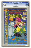 Bronze Age (1970-1979):Cartoon Character, Dynomutt #3 (Marvel, 1978) CGC NM+ 9.6 White pages. Overstreet 2004NM- 9.2 value = $25. CGC census 2/05: 1 in 9.6, none hig...