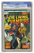 Bronze Age (1970-1979):Horror, Fear #20 (Marvel, 1974) CGC NM+ 9.6 Off-white to white pages.Morbius the Living Vampire begins. Spider-Man and X-Men cameos...