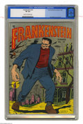 Golden Age (1938-1955):Horror, Frankenstein Comics #19 (Prize, 1952) CGC VF 8.0 Cream to off-whitepages. Dick Briefer cover and art. Overstreet 2004 VF 8....