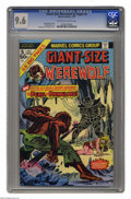 Bronze Age (1970-1979):Horror, Giant-Size Werewolf By Night #5 (Marvel, 1975) CGC NM+ 9.6Off-white to white pages. Gil Kane and Tom Palmer cover art.Over...