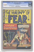 Golden Age (1938-1955):Horror, Haunt of Fear #16 (#2) (EC, 1950) CGC VG/FN 5.0 Cream to off-whitepages. First appearance of the Old Witch. Johnny Craig co...