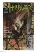 Modern Age (1980-Present):Horror, Hellblazer #1 (DC, 1988) Condition: NM-. John Constantine appears.Dave McKean cover art. John Ridgway interior art. Overstr...