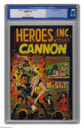 Silver Age (1956-1969):Superhero, Heroes, Inc. Presents Cannon #nn (Wally Wood, 1969) CGC NM/MT 9.8White pages. Wally Wood cover art. Wood and Steve Ditko in...