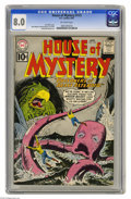 Silver Age (1956-1969):Mystery, House of Mystery #113 (DC, 1961) CGC VF 8.0 Off-white pages. DickDillin cover. Mort Meskin, George Roussos, Lee Elias, and ...
