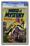 Silver Age (1956-1969):Mystery, House of Mystery #118 (DC, 1962) CGC FN/VF 7.0 White pages. Gorillacover. Mort Meskin and Ruben Moreira art. Overstreet 200...