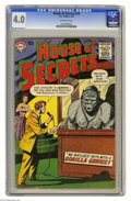 Silver Age (1956-1969):Mystery, House of Secrets #16 (DC, 1959) CGC VG 4.0 Off-white pages. Gorillacover. Overstreet 2004 VG 4.0 value = $24. CGC census 2/...