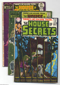 Bronze Age (1970-1979):Horror, House of Secrets Group Plus (DC, 1969-73) Condition: Average VG.This lot consists of House of Secrets #81 (mystery form... (Total:6 Comic Books Item)