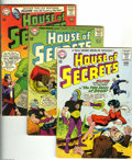 Silver Age (1956-1969):Mystery, House of Secrets Group (DC, 1964-65) Condition: Average VG+. Thisgroup includes #66 (Alex Toth art), 67 (Toth art), 68, 70,...(Total: 6 Comic Books Item)