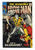 Silver Age (1956-1969):Superhero, Iron Man #7 (Marvel, 1968) Condition: VF. Iron Man faces the Gladiator as well as the Maggia. George Tuska cover and art. In...