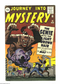 Silver Age (1956-1969):Mystery, Journey Into Mystery #76 (Marvel, 1962) Condition: VG+. Artistsinclude Jack Kirby and Steve Ditko. Overstreet 2004 VG 4.0 v...