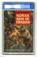 Silver Age (1956-1969):Adventure, Korak, Son of Tarzan #1 (Gold Key, 1964) CGC FN+ 6.5 Cream to off-white pages. Russ Manning art. Overstreet 2004 FN 6.0 valu...