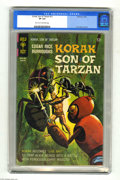 Silver Age (1956-1969):Adventure, Korak, Son of Tarzan #21 (Gold Key, 1968) CGC VF 8.0 Light tan to off-white pages. Russ Manning art. Overstreet 2004 VF 8.0 ...