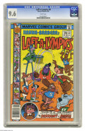 Bronze Age (1970-1979):Cartoon Character, Laff-A-Lympics #6 (Marvel, 1978) CGC NM+ 9.6 White pages.Overstreet 2004 NM- 9.2 value = $20. CGC census 2/05: 1 in 9.6,no...
