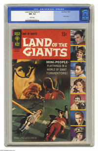 Land of the Giants #1 (Gold Key, 1968) CGC NM- 9.2 White pages. Photo cover. Overstreet 2004 NM- 9.2 value = $85. CGC ce...