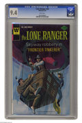 Bronze Age (1970-1979):Western, Lone Ranger #24 (Gold Key, 1976) CGC NM 9.4 White pages. Overstreet 2004 NM- 9.2 value = $18. CGC census 2/05: 1 in 9.4, 1 h...